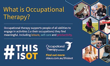 OT Week 2019 to raise awareness of the great work being done by  occupational therapists